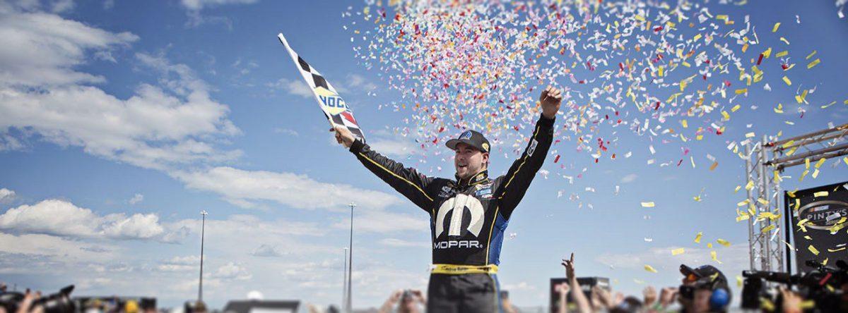 Andrew Ranger: Entrevue avec un coureur automobile de NASCAR!