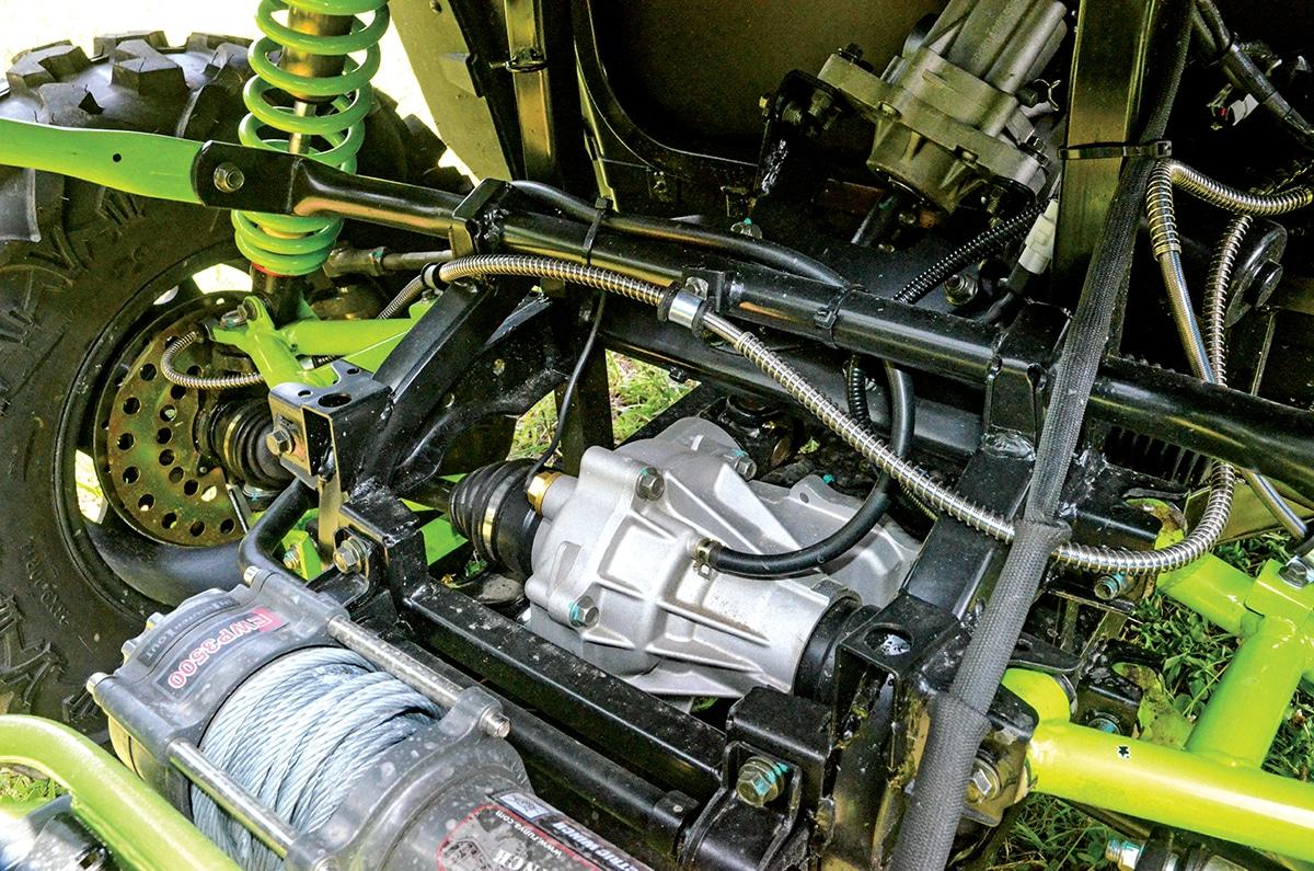 CU800 moteur