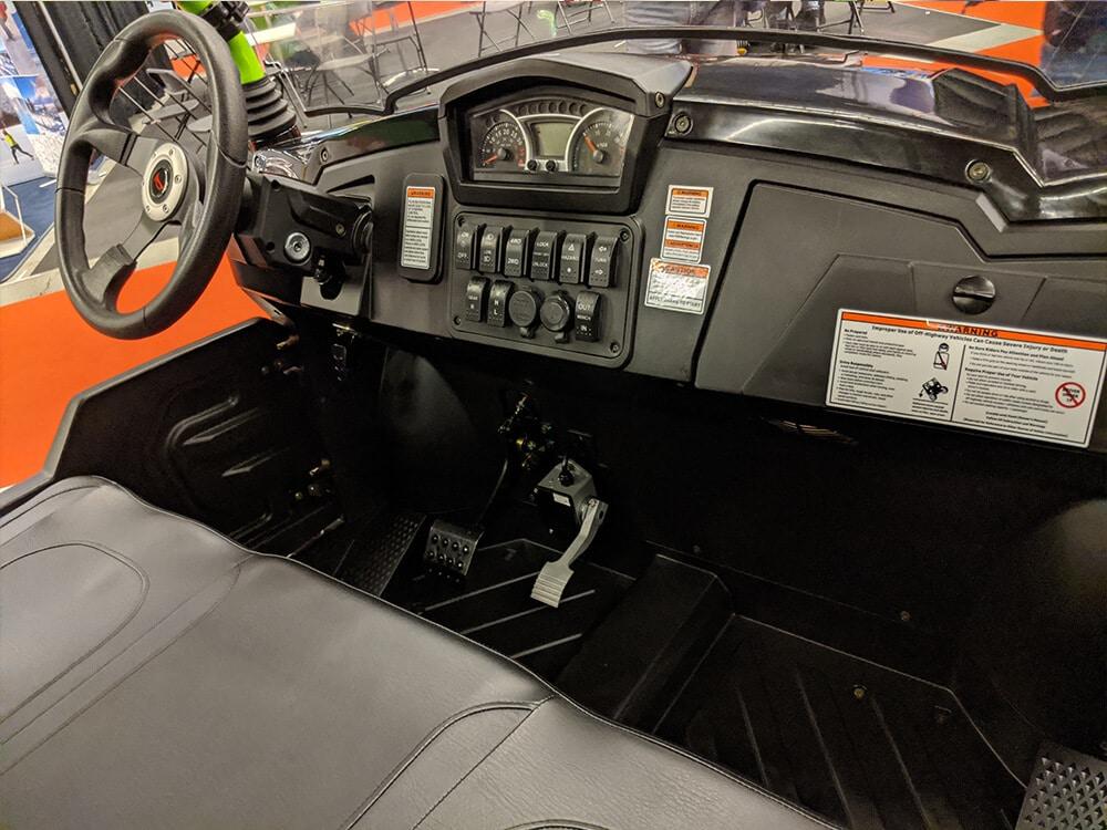 CU800 Électrique Full intérieur