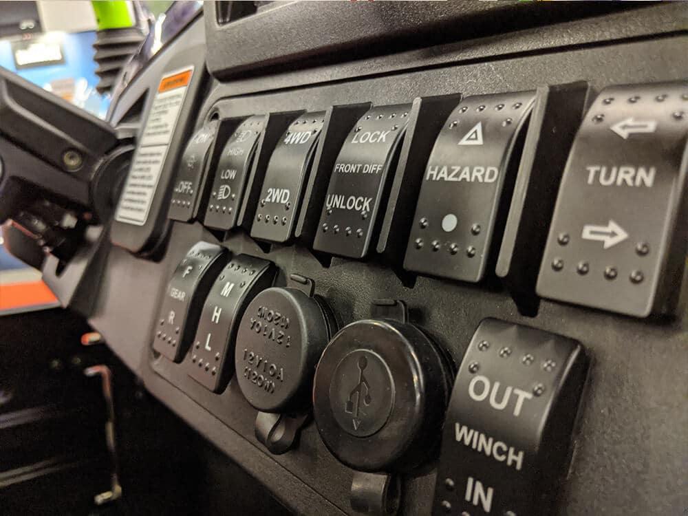 CU800 Électrique intérieur boutons