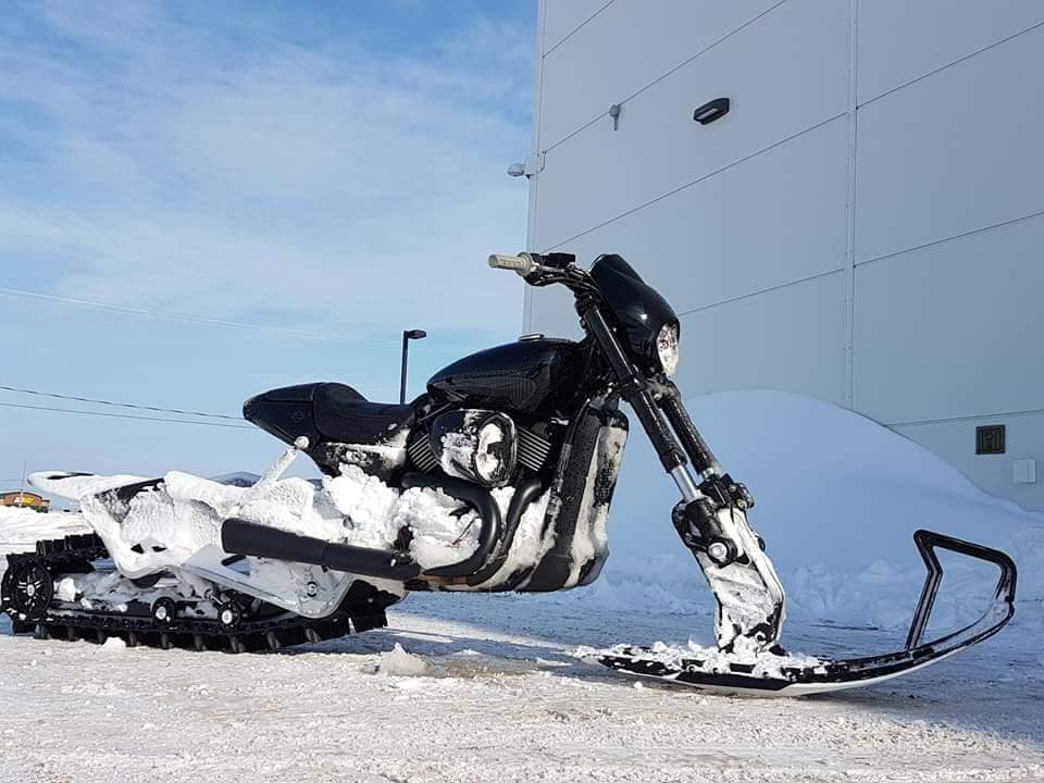 Harley Davidson Snow bike