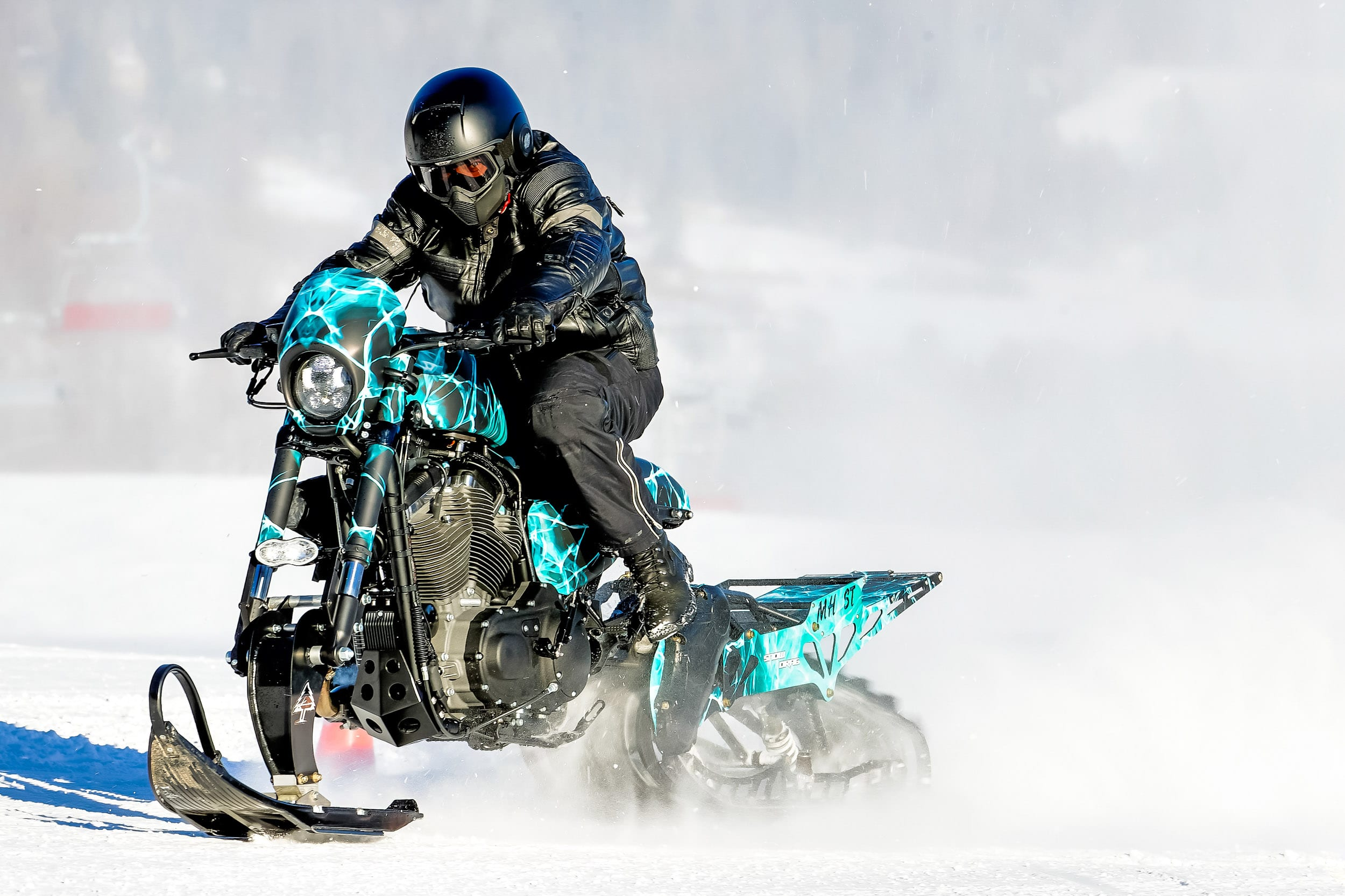 Harley Davidson snow bike 2017