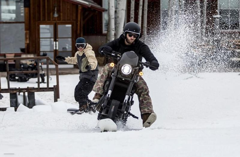 Harley-Davidson snow bike 2017