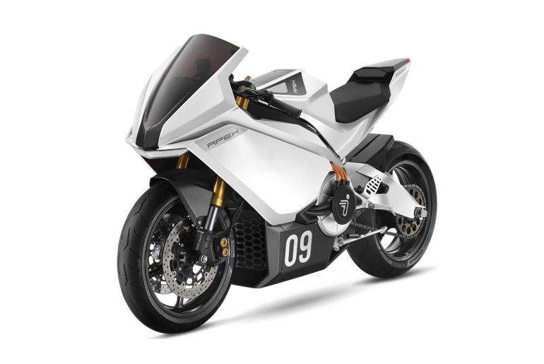 segway ninebot apex electric motorcycle concept