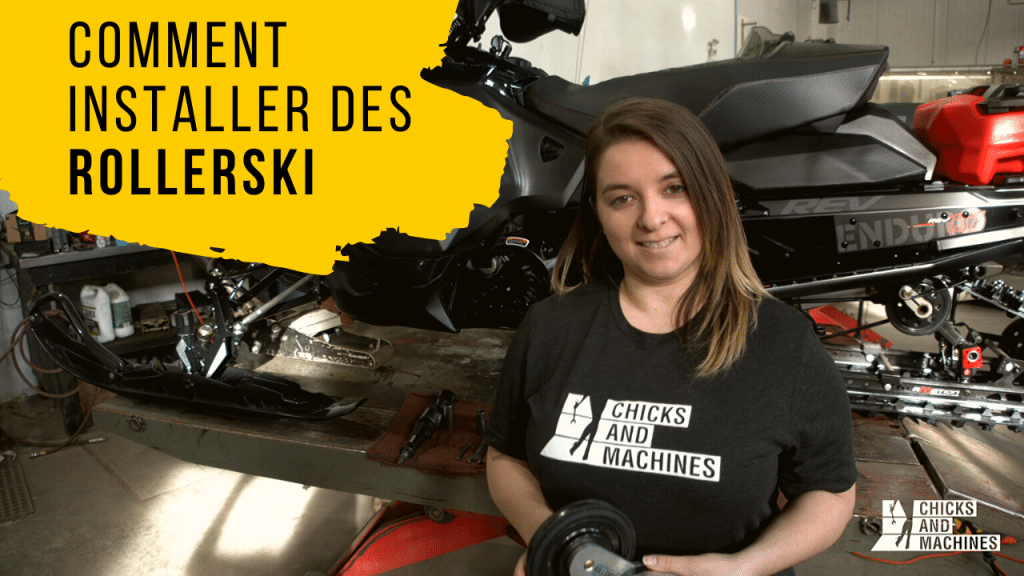 comment installer des rollerski