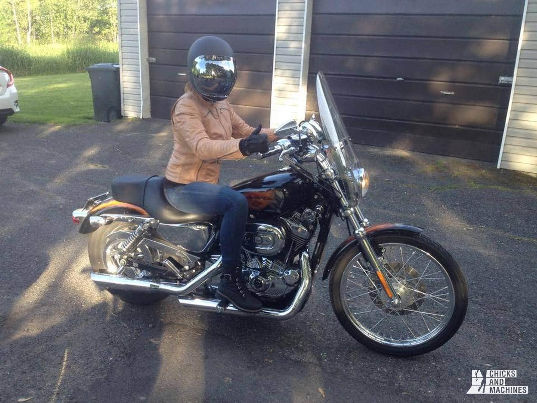 Débutant à moto 1