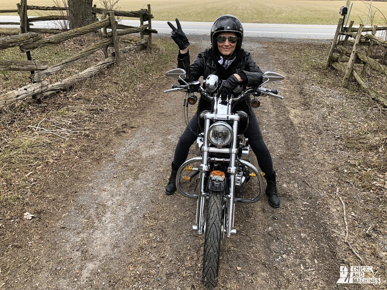 Débutant à moto 8