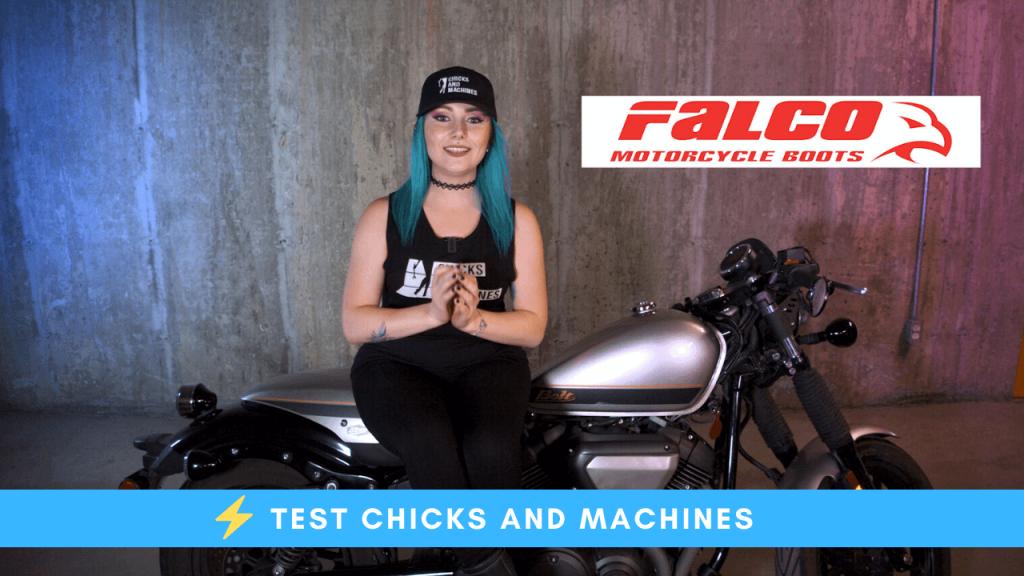 Bottes moto Ayda Low Falco