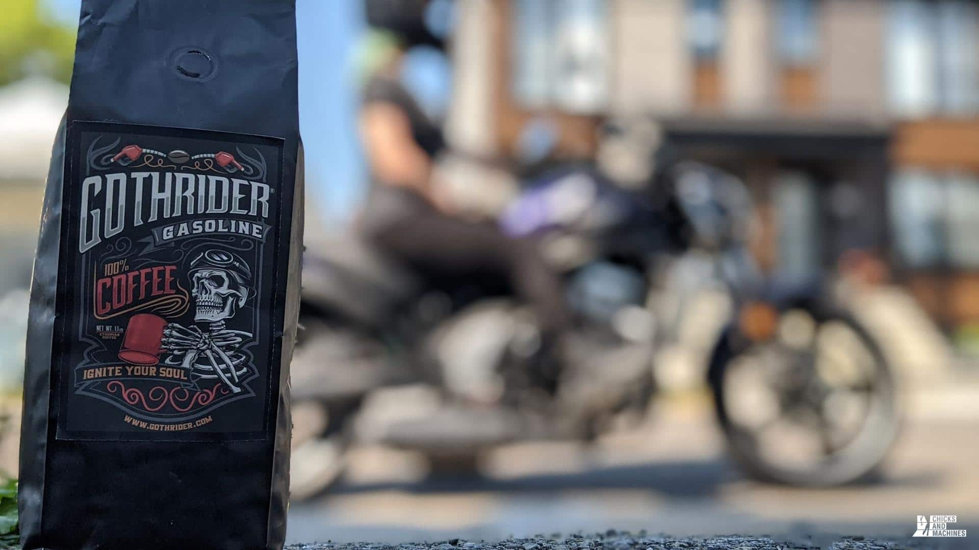 Goth Rider Gasoline