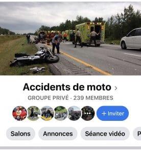 Accidents de moto