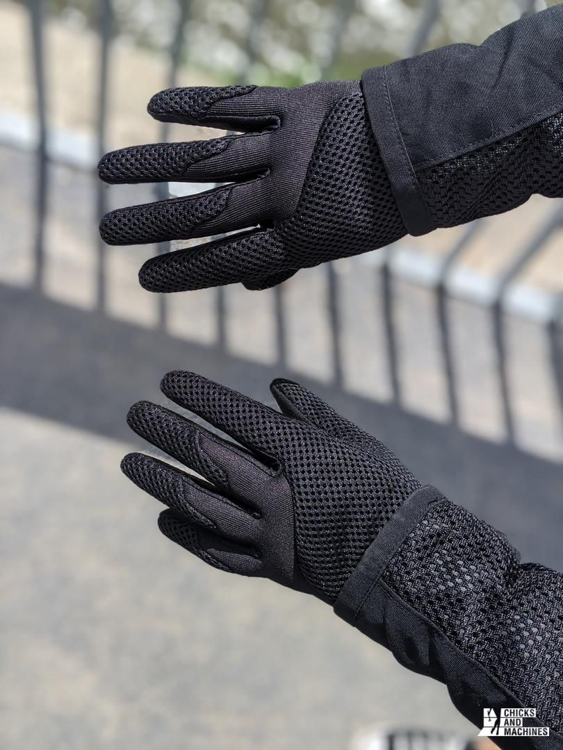manteau gants Can-Am