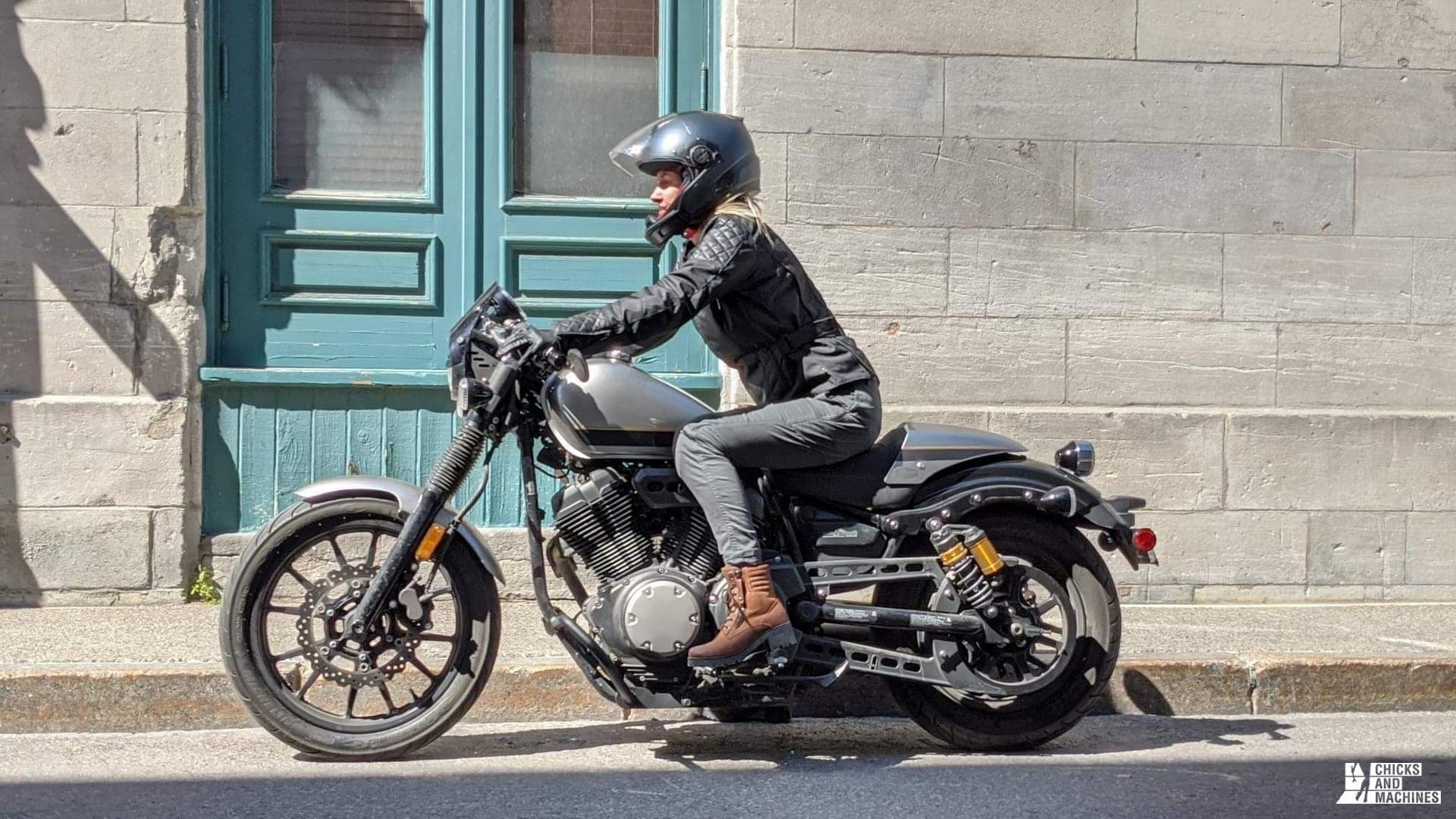 pantalons de moto