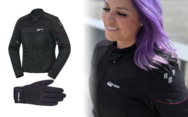 manteau gants Can-Am
