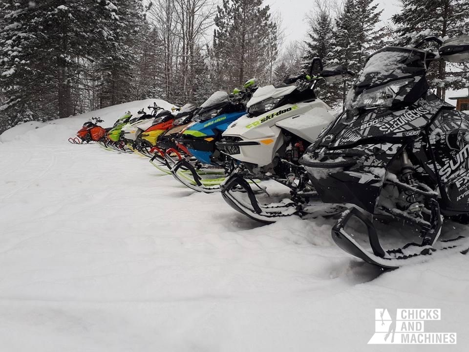 Motoneige au Nouveau-Brunswick