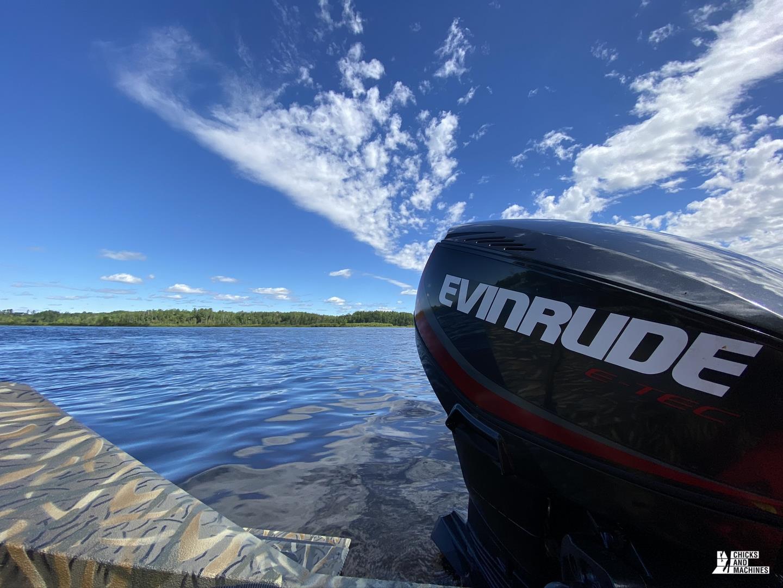 Essai des bateaux Allumacraft et moteurs Evinrude