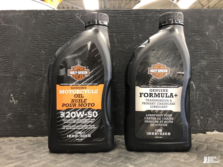 Harley Davidson oil