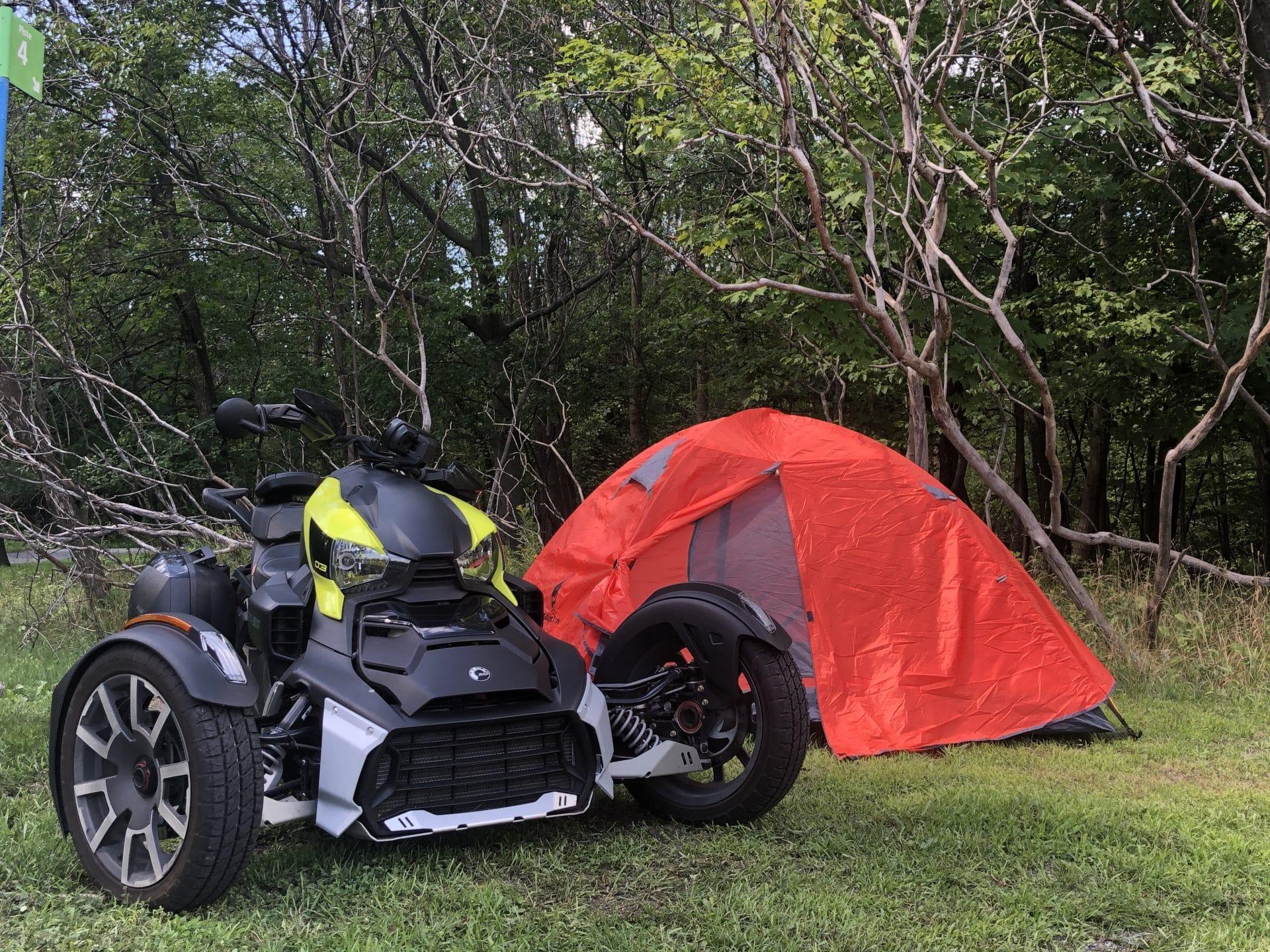 Faire du camping en Ryker
