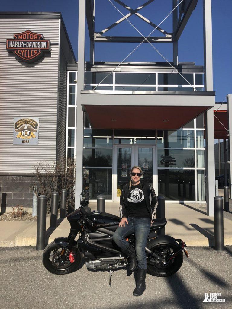 Essai routier de la Harley-Davidson LiveWire