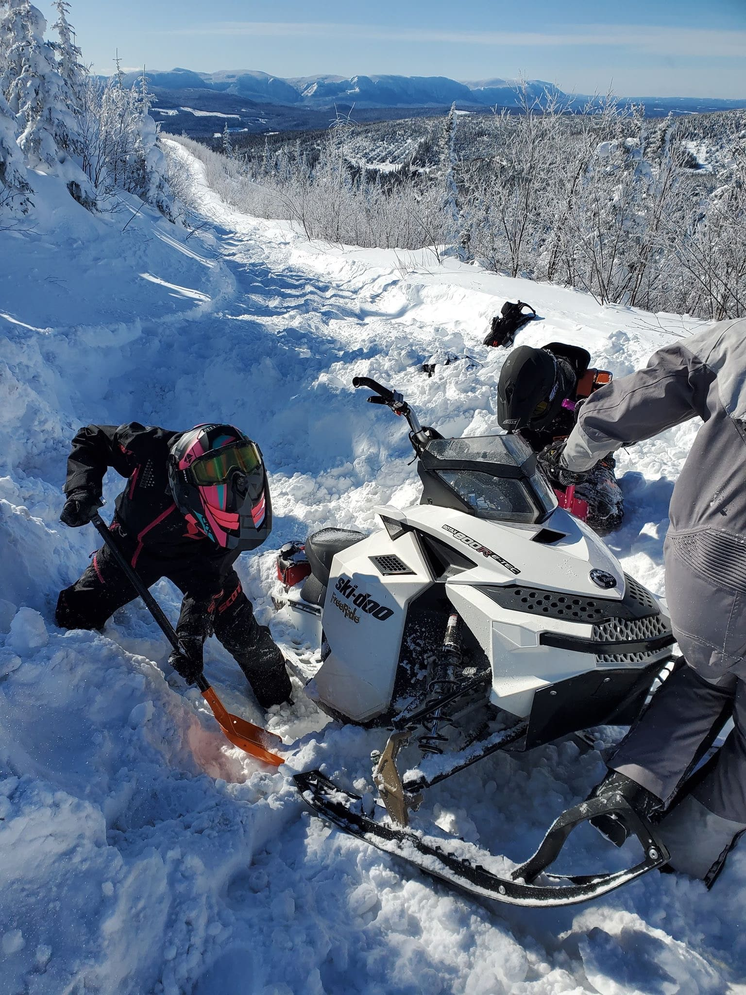 Off-Trail Snowmobiling: Anyone Can Learn How!