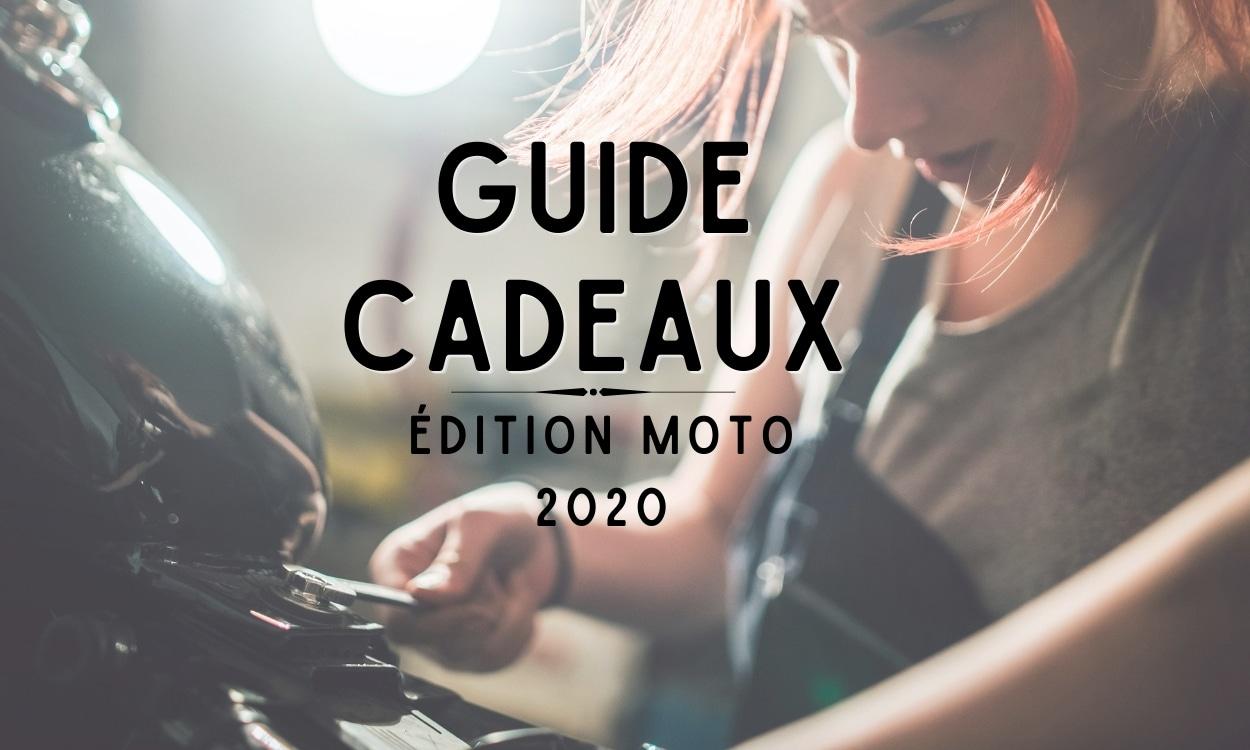 Guide cadeaux de noël 2020 édition moto