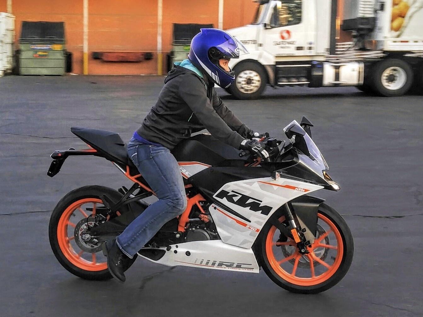 Cours conduite moto avancée