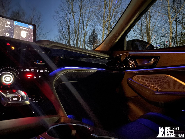 2022 MDX Acura Interior and Screen