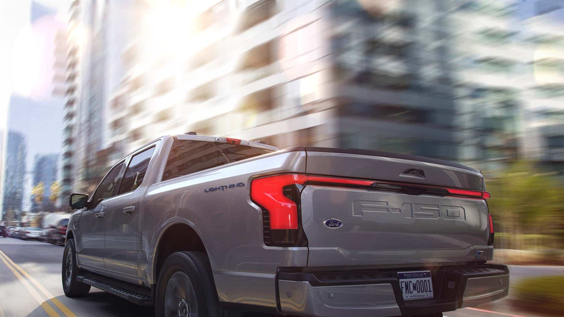 The new F-150 Lightning. Photo: www.ford.ca