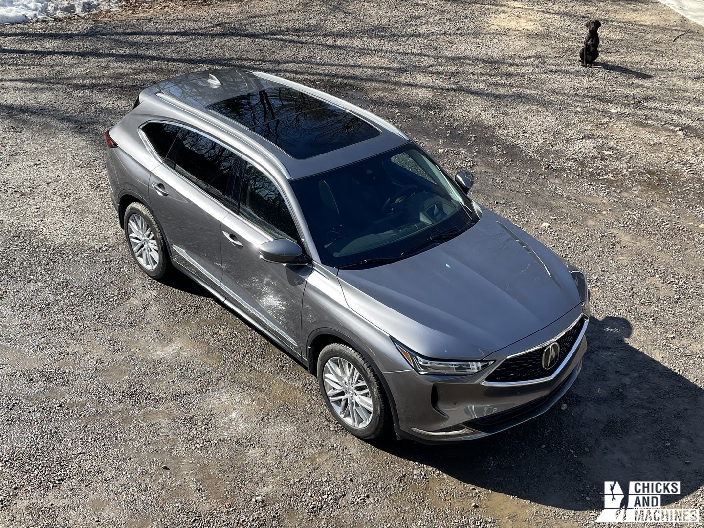 The 2022 MDX Acura Aerial View