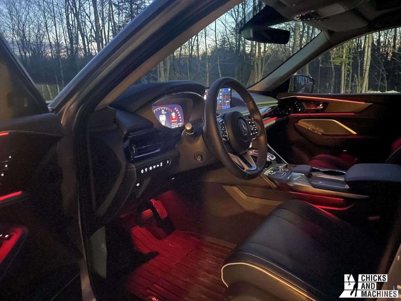 2022 MDX Acura Red Interior