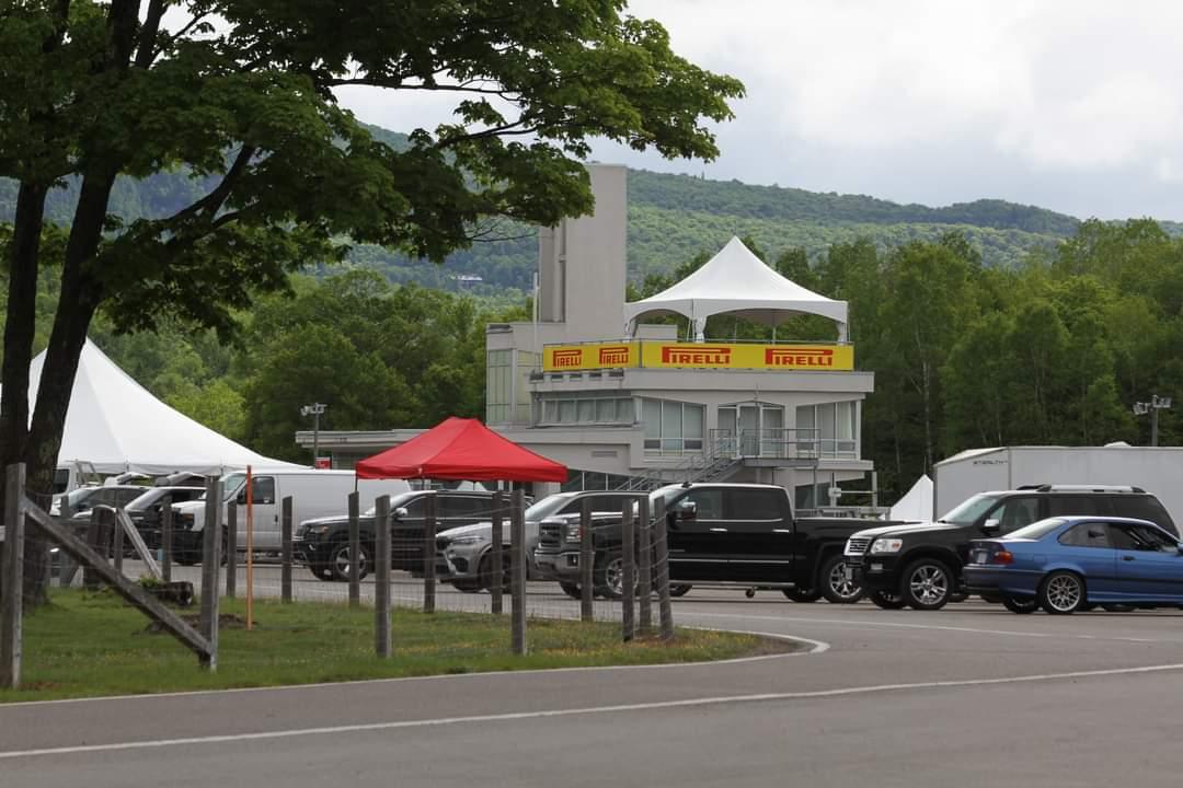 Les tours et chapiteaux du circuit Mont-Tremblant