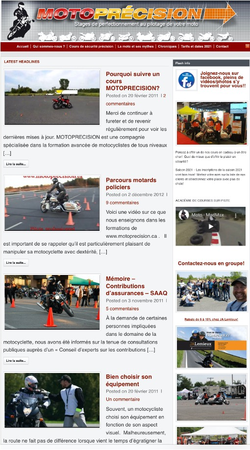 Moto Précison. Source: https://www.motoprecision.ca
