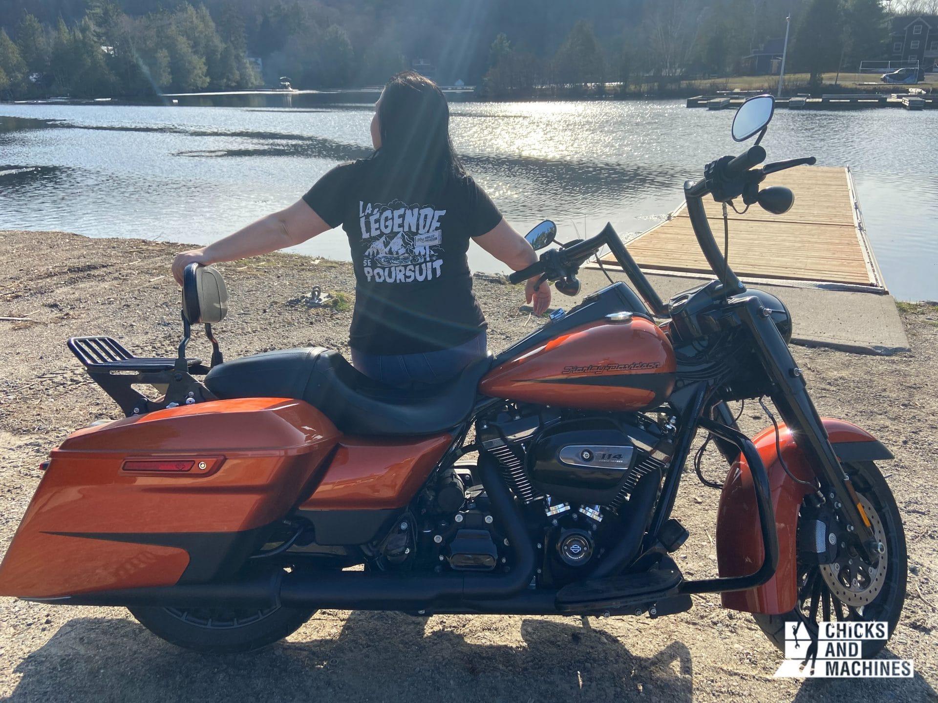 Roadtrip à moto en Montérégie, Ontario et Laurentides
