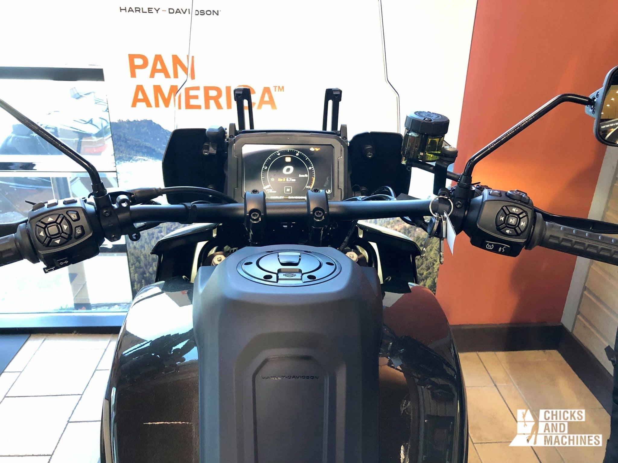 Écran digital de la Pan America