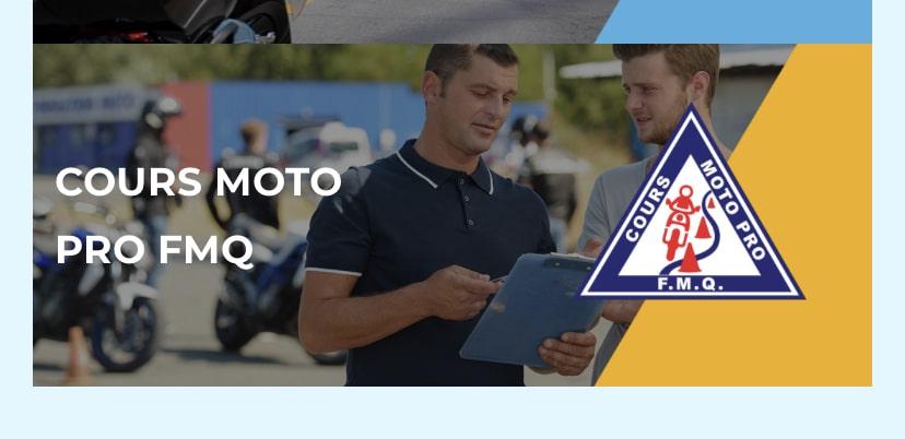 Cours de moto Pro FMQ. Source : https://www.fmq.ca/fr/