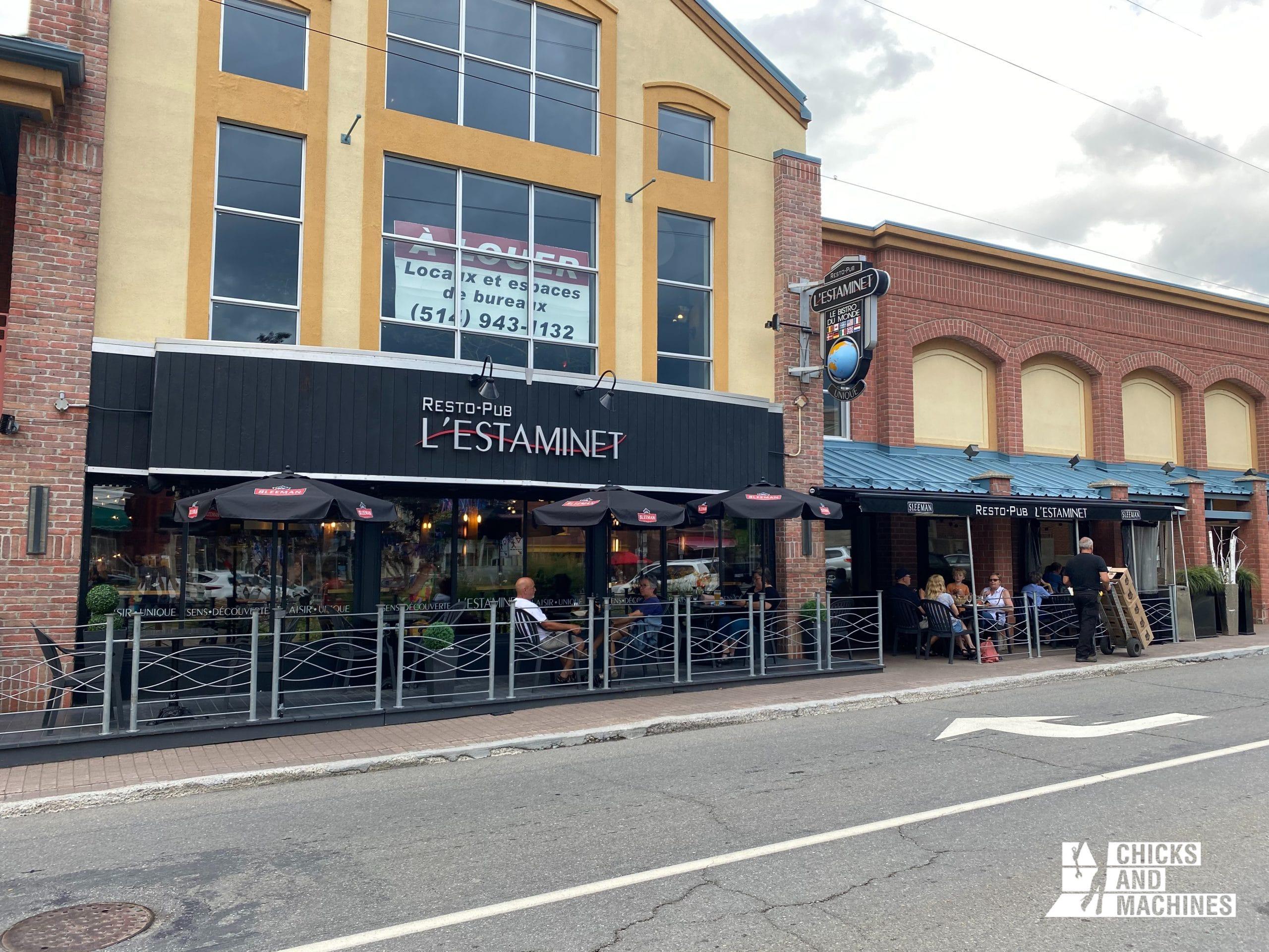 Le Resto-Pub l'Estaminet: un incontournable à Rivière-du-Loup