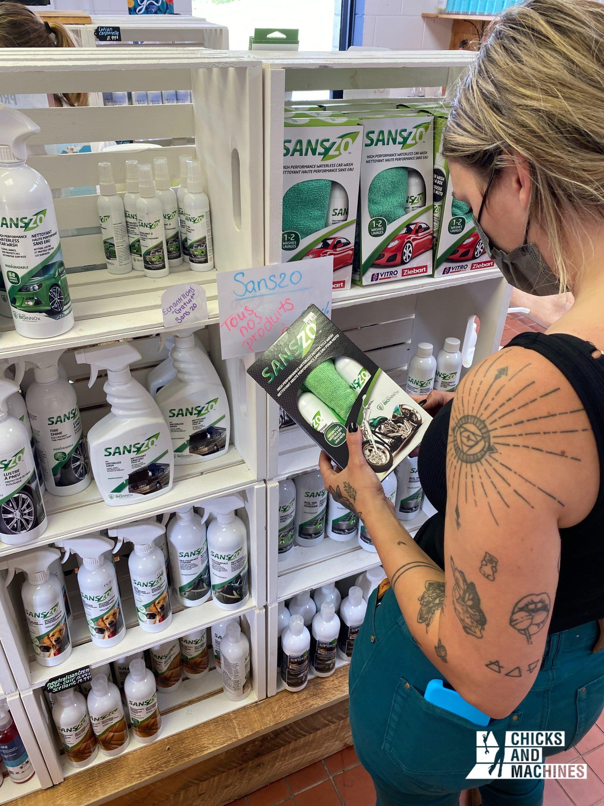 La découverte des produits Sans-zo, une belle alternative écolo