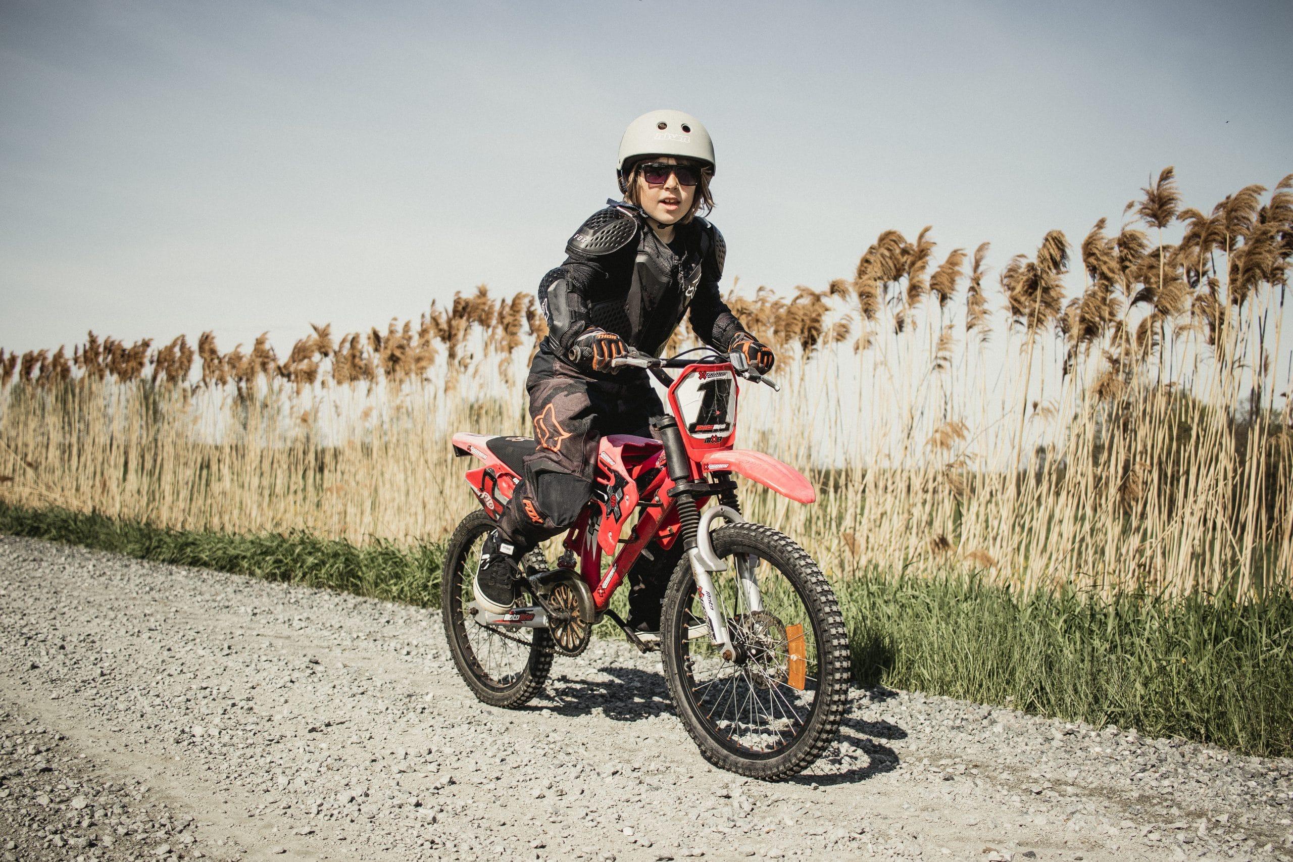 Le petit rider de 7 ans de Marie-Pier! Crédit photo : Marie-Pier Martineau