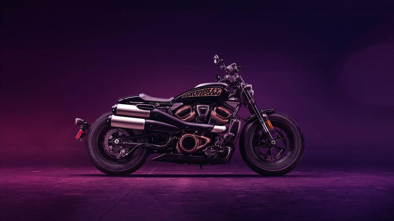 The new 2021 Sportster S from Harley-Davidson. Photo: https://www.harley-davidson.com/ca/en/motorcycles/sportster-s.html