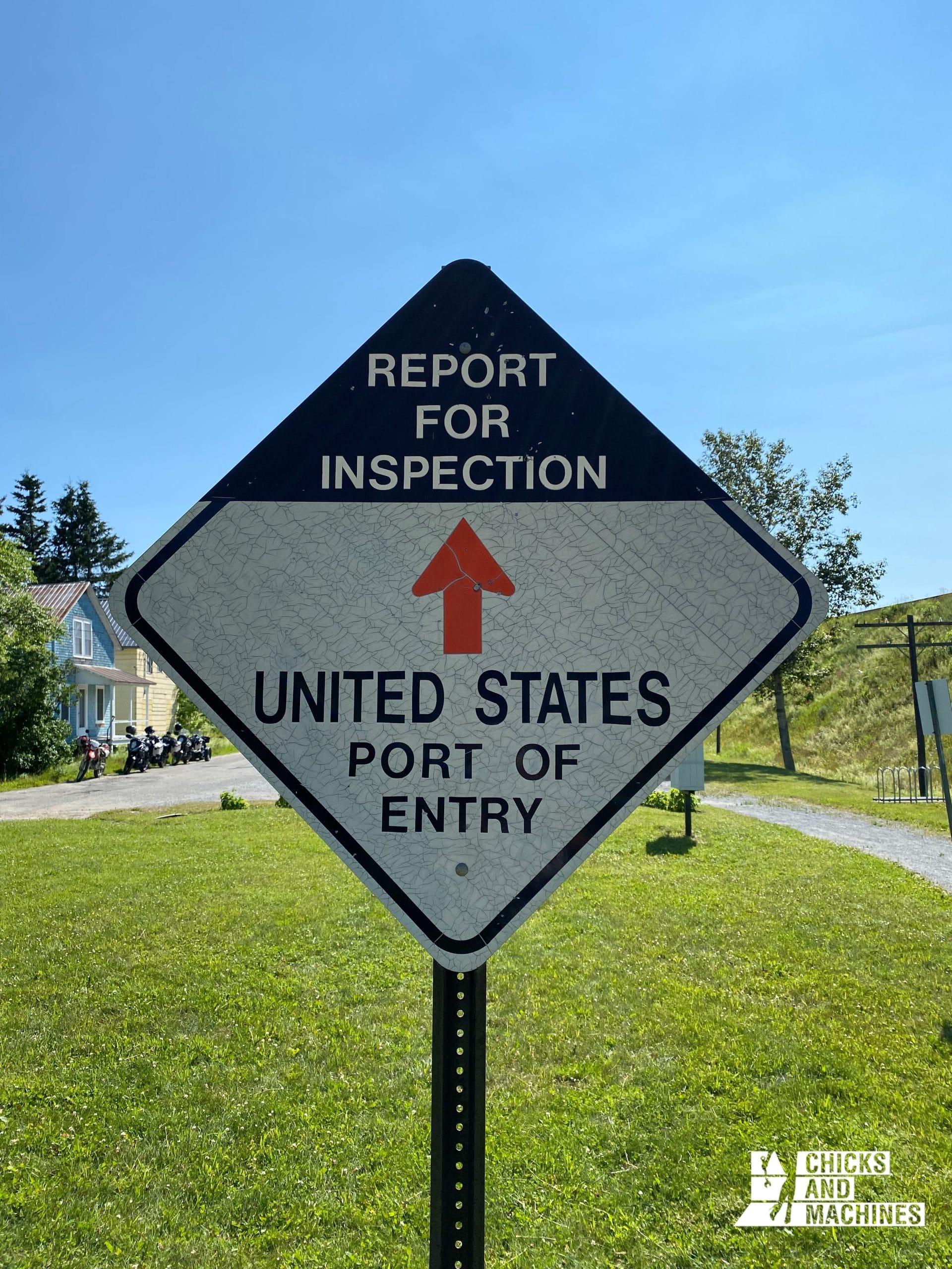 Les douanes américaines à Pohénégamook