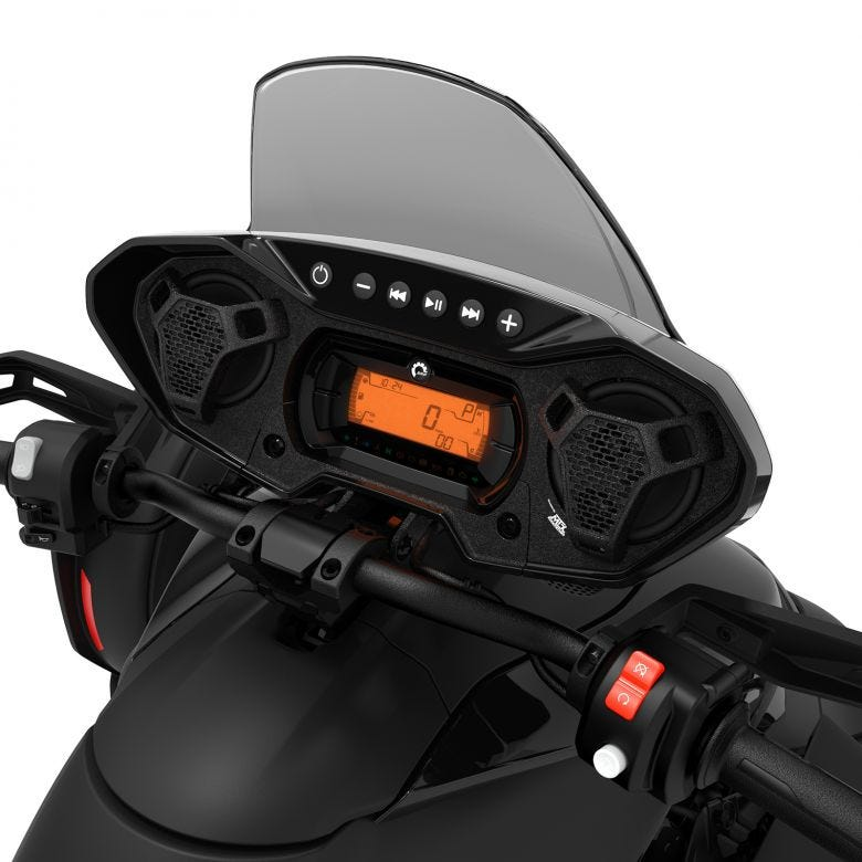 The MTX Audio System. Source: https://can-am-shop.brp.com/on-road/ca/en/219401033-audio-system.html.html