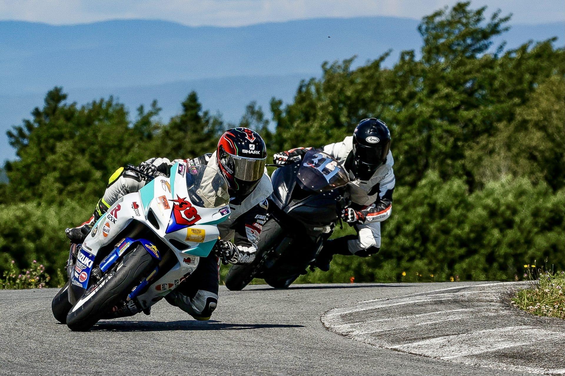 Les motos Supersport, de la route à la piste...(Eve Lyne)