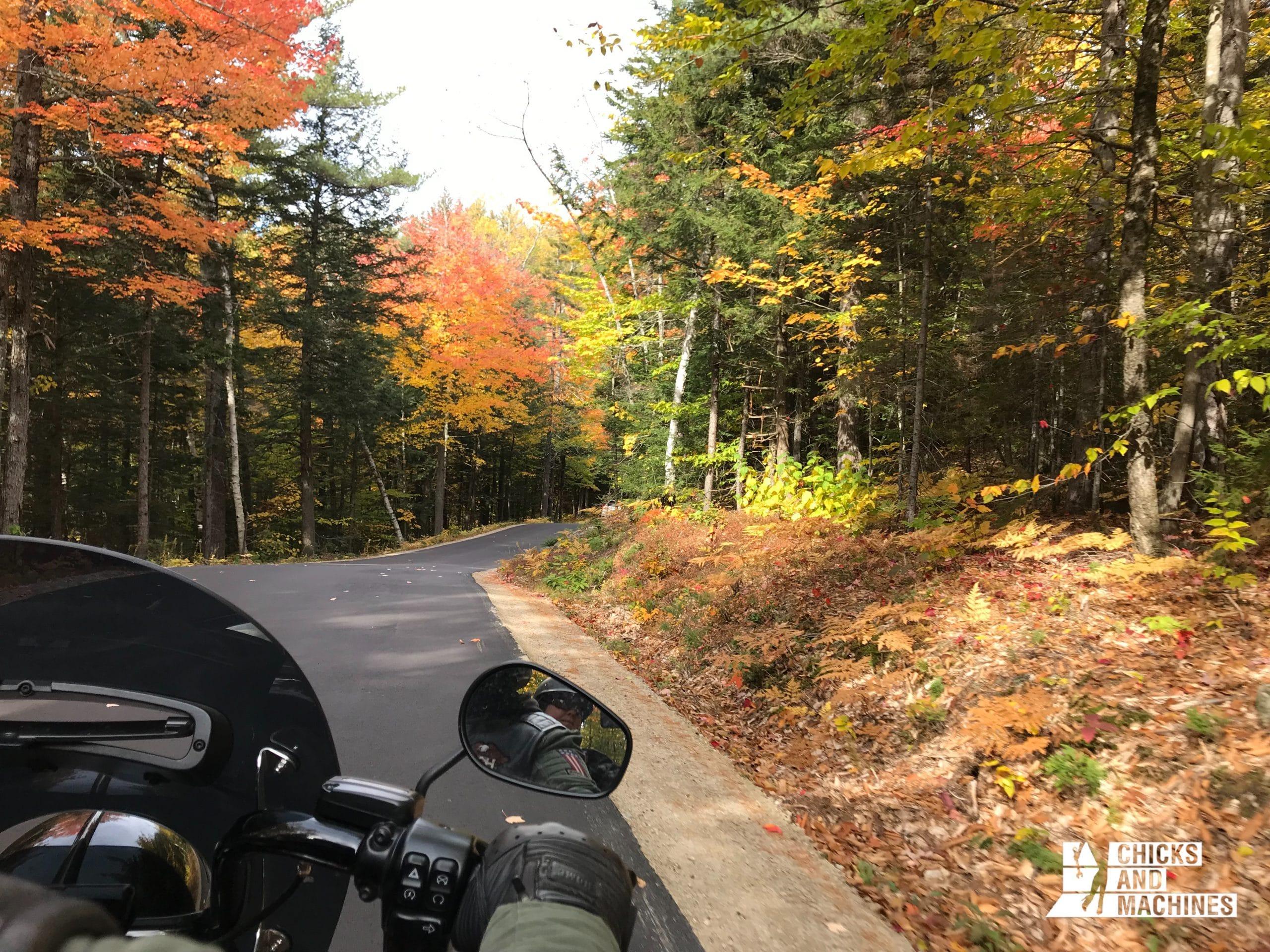 La Hurricane Mountain Road : une route sinueuse avec de belles courbes !