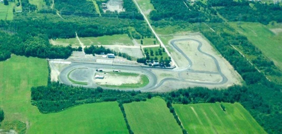 Vue d'ensemble de l'Autodrome de Montmagny. Source: Facebook