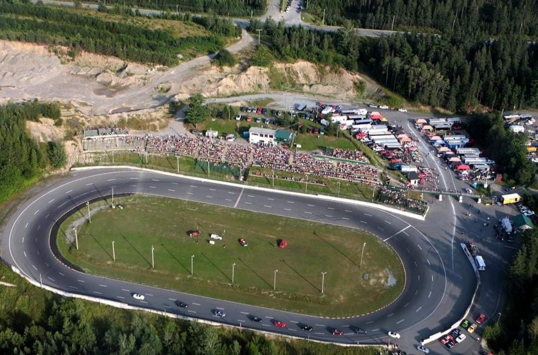 Vue d'ensemble de la piste de Vallée-Jonction. Source: Facebook