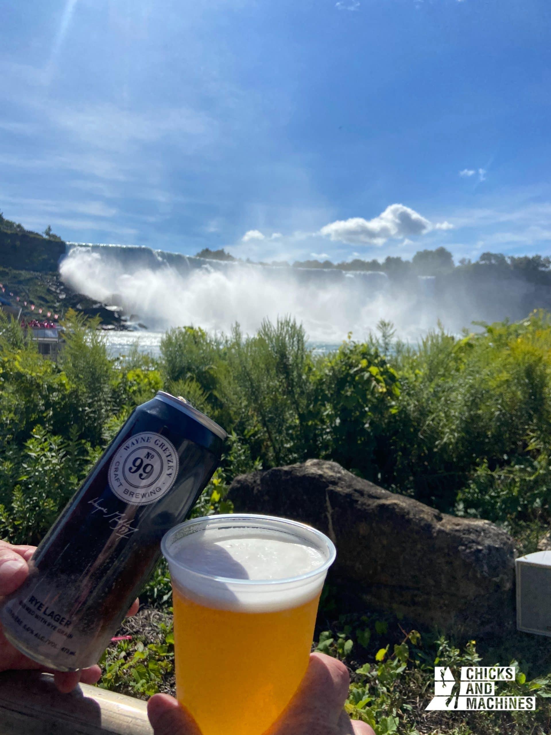 Une bonne bière avec une belle vue, quoi demander de mieux !