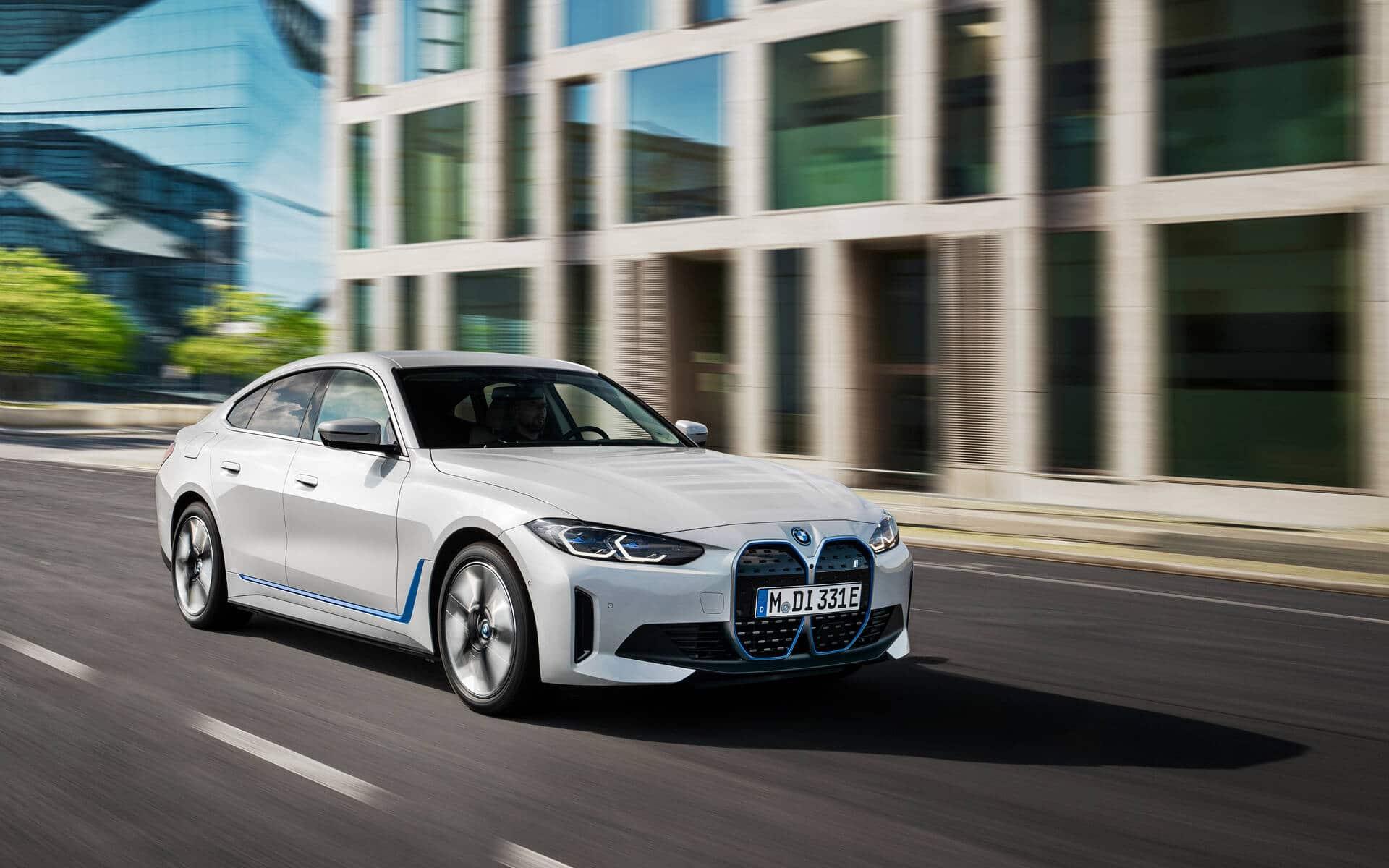 La BMW i4 désormais disponible en précommande au Québec