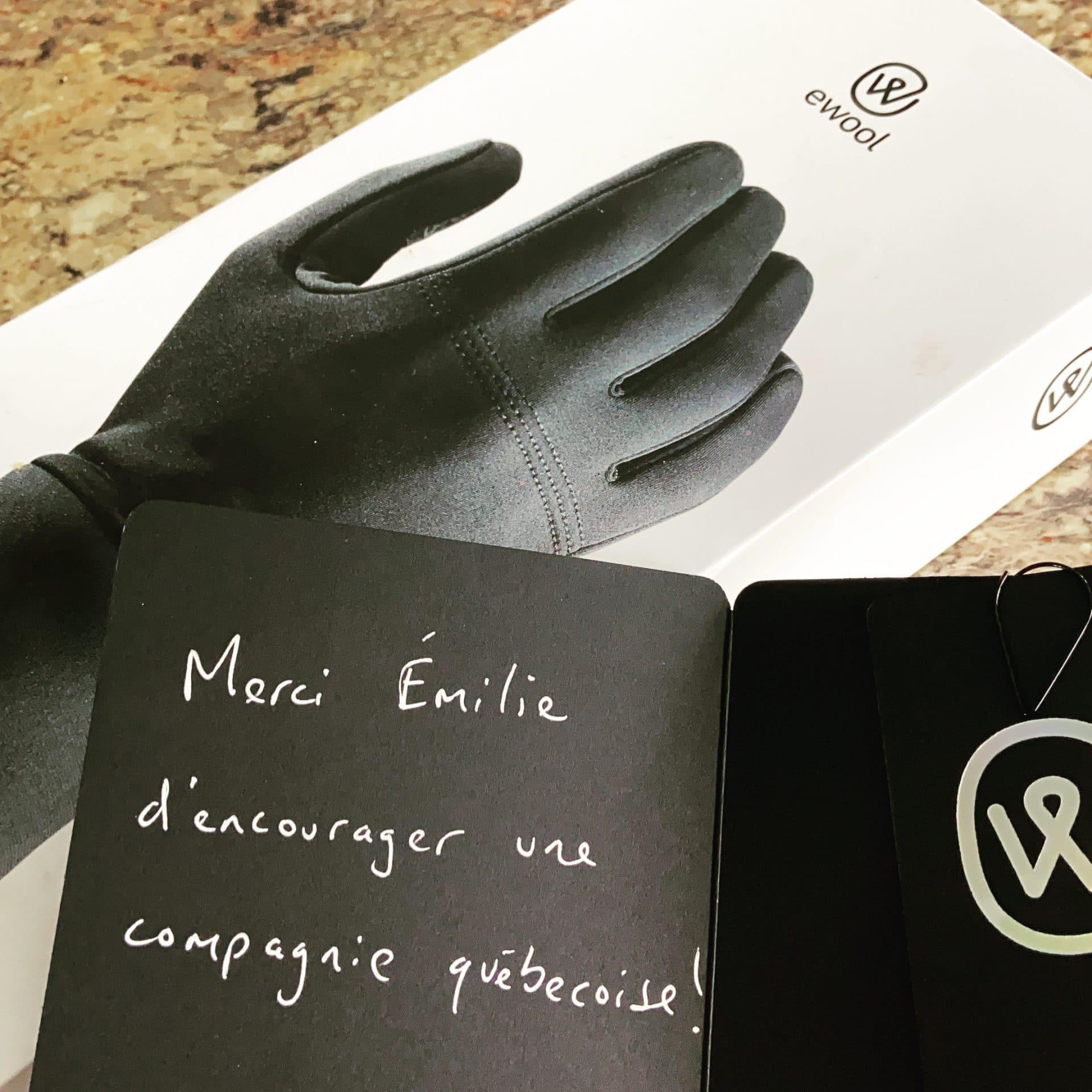 Ewool : Essai de la doublure chauffante pour gants