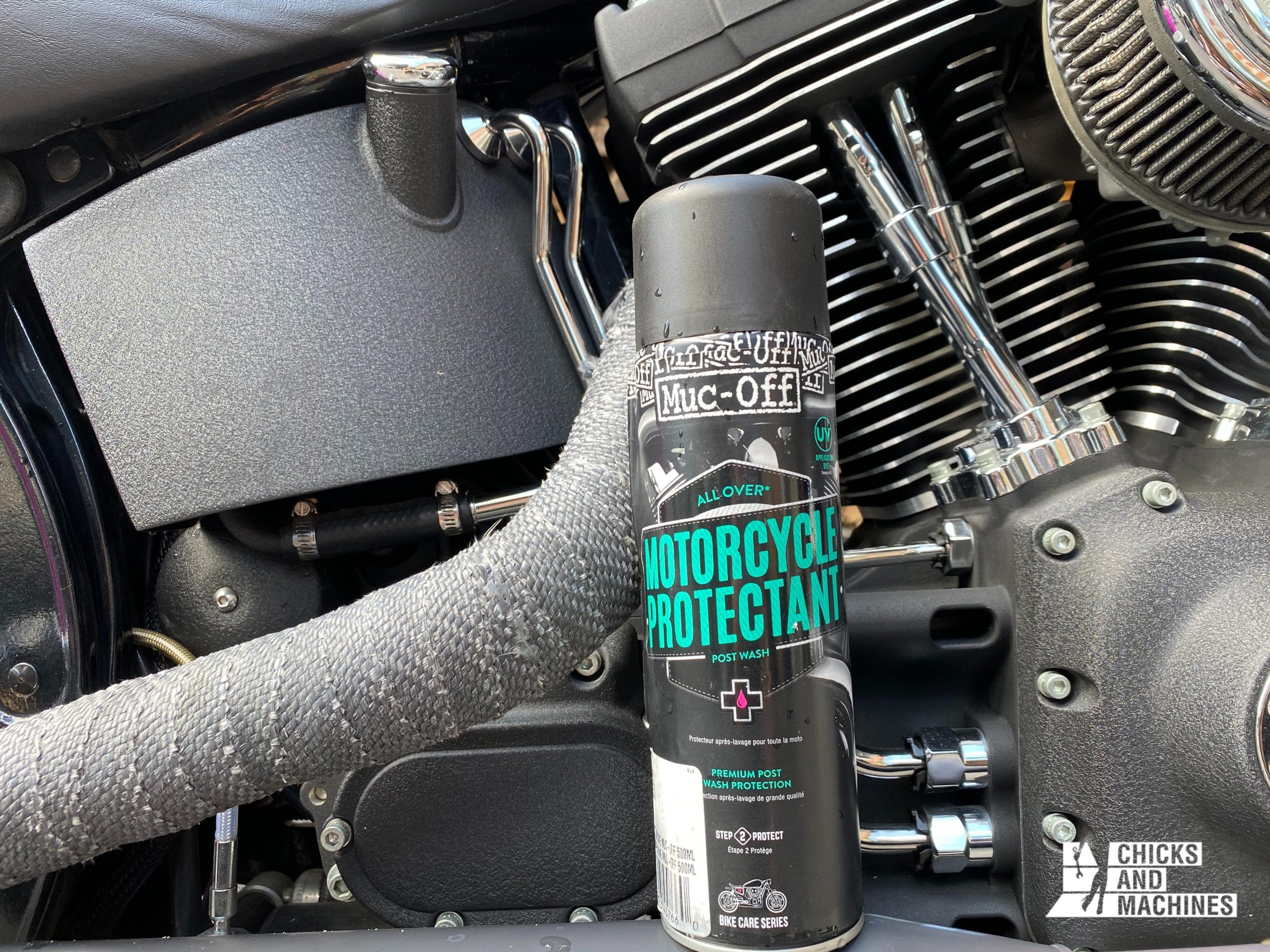 Muc-Off's motorcycle protector