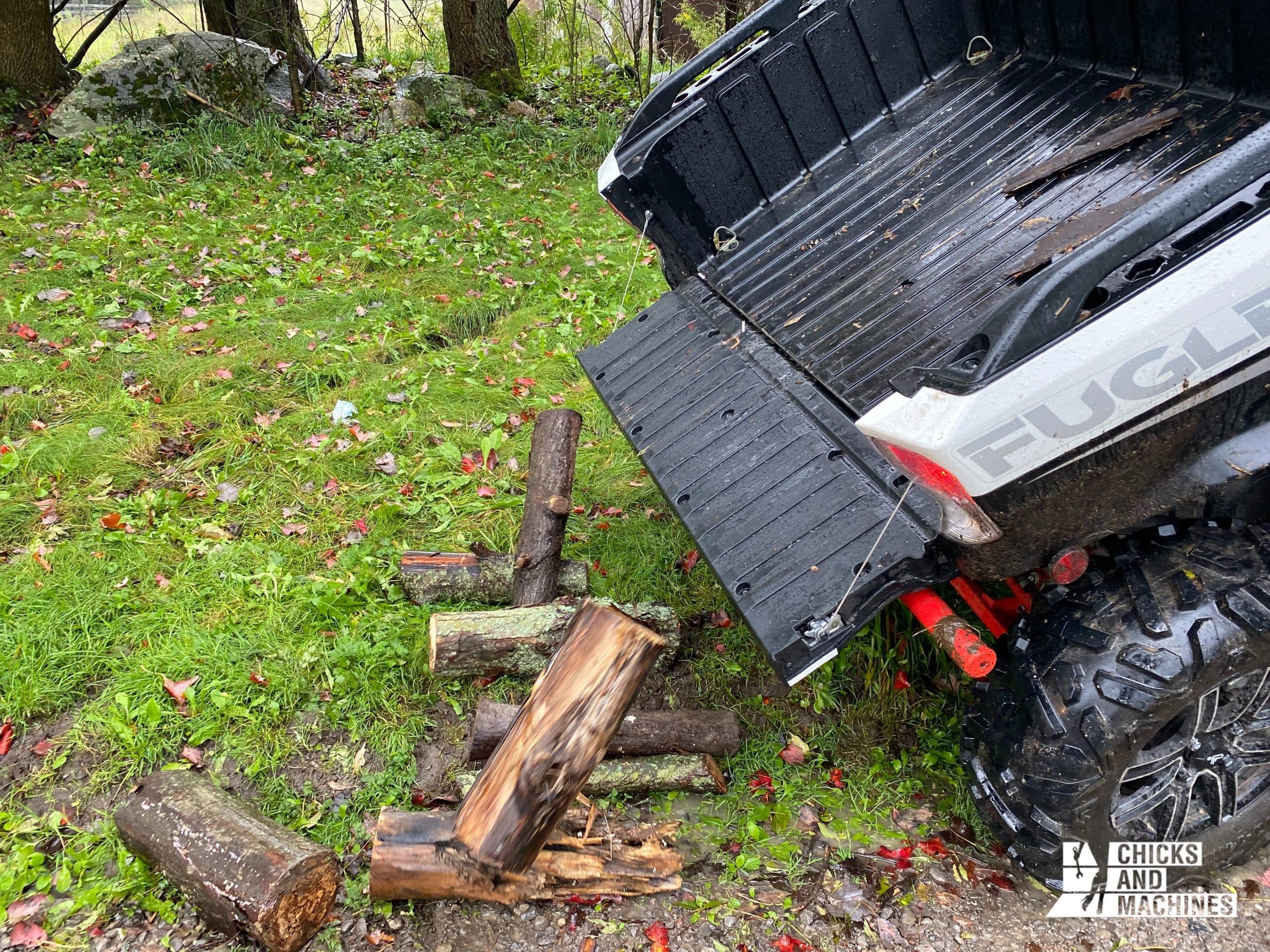 Le système de versement du coffre arrière fonctionne très bien et est très pratique.