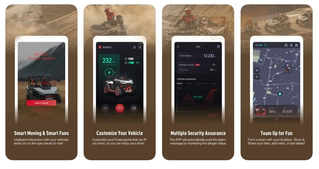 The Segway app features. Source: https://segwaypowersports.ca